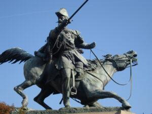 fig.1 Statua di Emanuele Filiberto